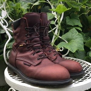 Red Wing Shoes leather work boots 10 1/2
